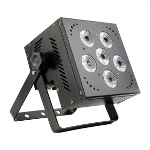 BATTERY POWERED DMX LED PAR