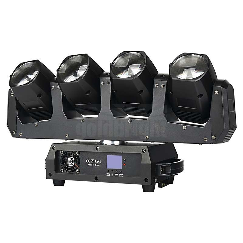 4heads led moving head beam