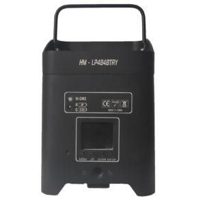 battery powered wireless dmx par can